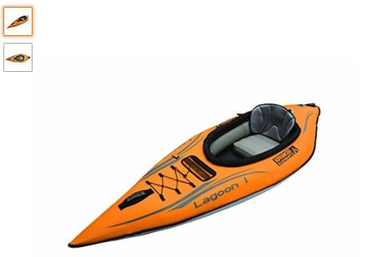 Advanced Elements AE1031-0: kayak hinchable para mar