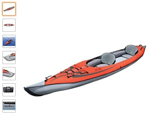 Advanced Elements ae1007-r : kayak hinchable para dos personas