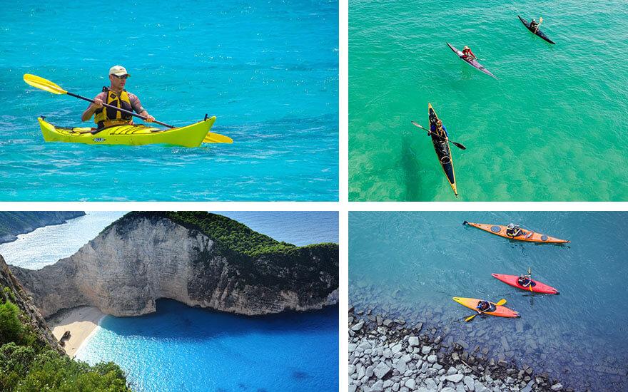introducción al kayak