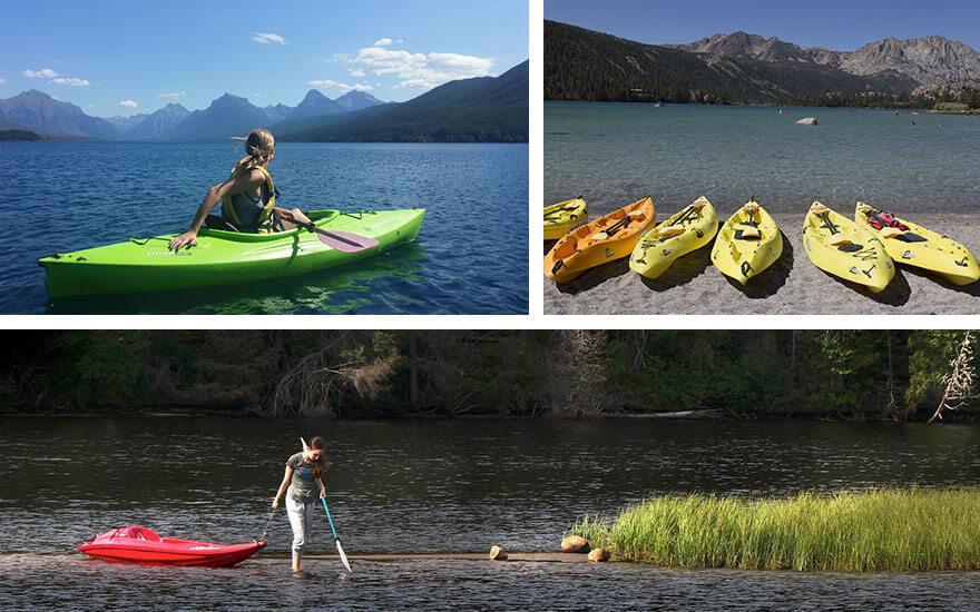 qué es un kayak rigido